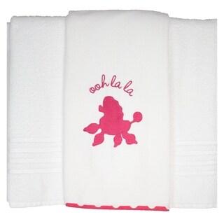 Pam Grace Creations Posh in Paris Cotton Bath Towels (Set of 2)