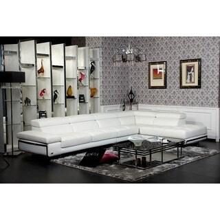 Divani Casa Myst Modern Eco-leather Sectional Sofa