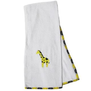Pam Grace Creations Argyle Giraffe Cotton Bath Towels (Set of 2)