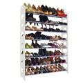 Maison Condelle 40-pair White Shoe Rack