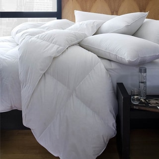 Percale Cotton Synthetic White Duvet Insert/ Comforter
