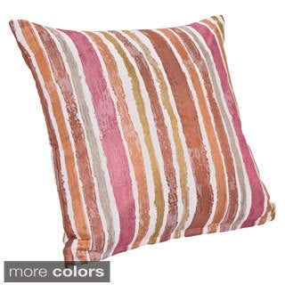 Contemporary Stripe Throw Pillow