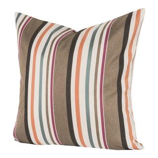 Resort Stripe Indoor/Outdoor Throw Pillow