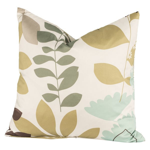English Garden Throw Pillow
