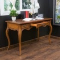 Christopher Knight Home Victorian Three-Drawer Wood Desk