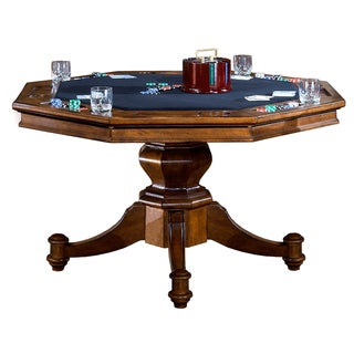 Hillsdale Nassau Traditional Wood Game Table