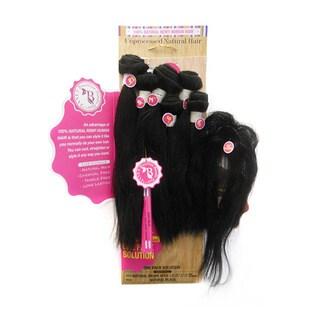 Janet Brazilian Bundle Hair Natural Wave Bombshell (6-piece Set)