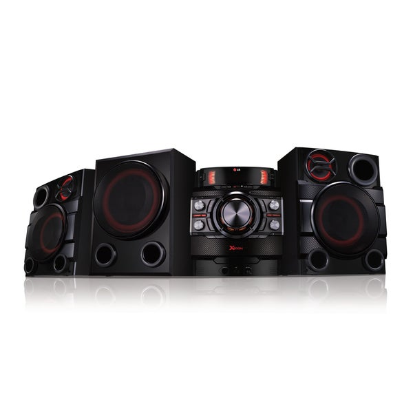 LG CM8440 Portable 1900-watt 2.1-channel Bluetooth Mini Stereo System