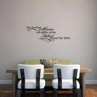 The Fondest Memories' Wall Decal