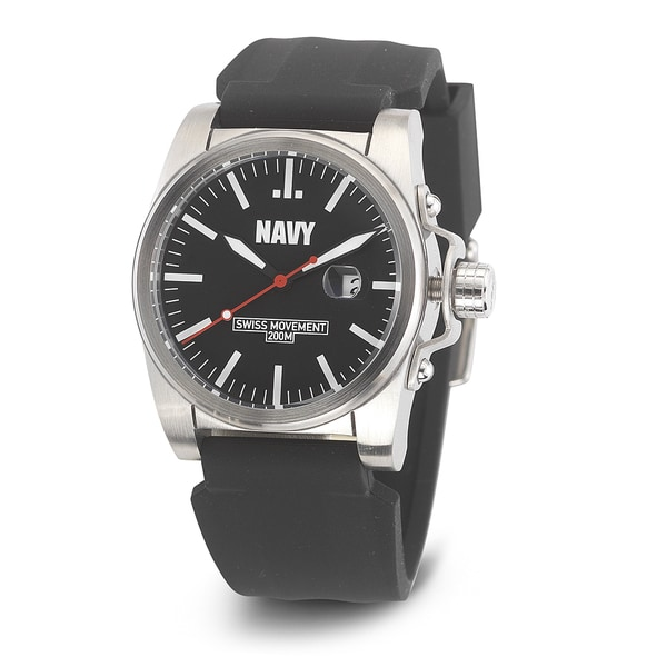 Wrist Armor Men's WA414 U.S. Navy C1 Black Watch