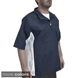 Orlimar Men's Golf Cyclone Wind Short Sleeve 1/4 Zip Shirt
