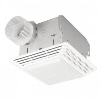 Broan 50 CFM Ceiling Eco Exhaust Bath Fan with Light