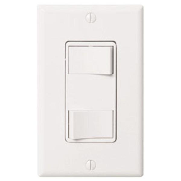 WhisperControl 2-Function On/Off Switch in White