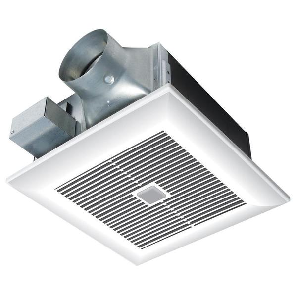 WhisperWelcome 80 CFM Ceiling Motion Sensing Exhaust Bath Fan ENERGY STAR*