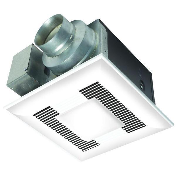 Whisper Sense Light Bathroom Fan 110 CFM
