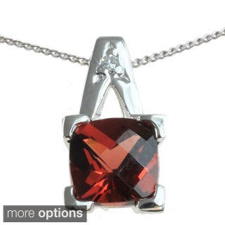 Michael Valitutti 10K Yellow or White Gold Gemstone Pendant Necklace