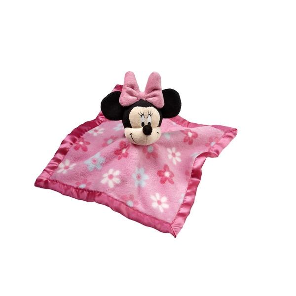Disney Minnie Plush Security Blanket 17194881