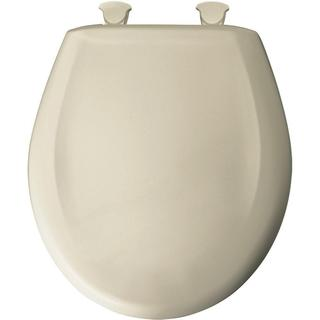 Slow Close STA-TITE Round Closed Front Toilet Seat