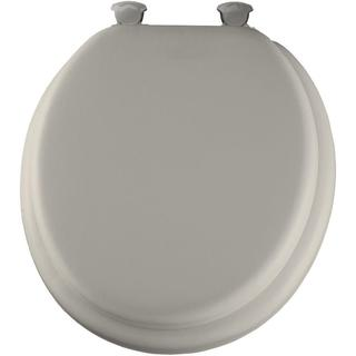 Lift-Off Soft Round Closed Front Biscuit Toilet Seat