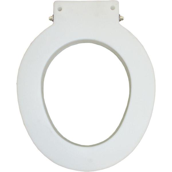 Medic-Aid Closed Front Less Cover White Commercial Spacer with 4 in. Lifts and DuraGuard