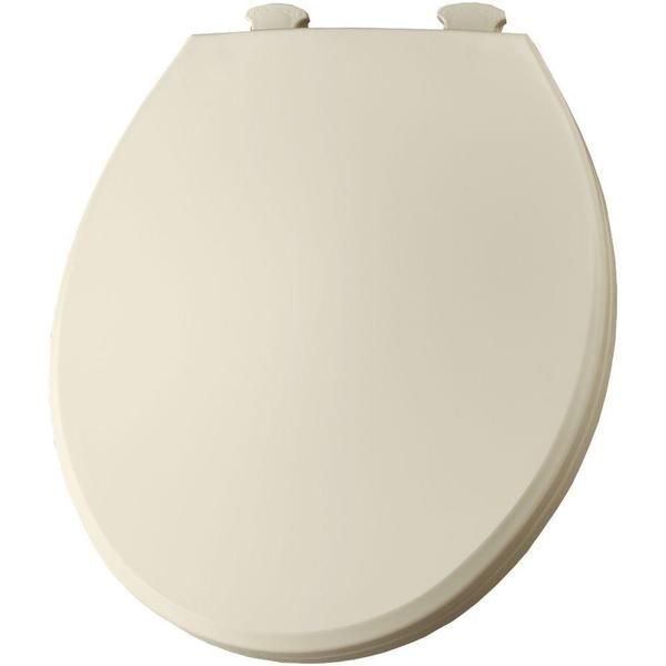 Lift-Off Round Closed Front Toilet Seat