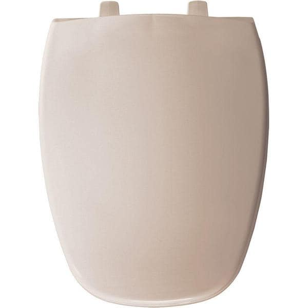 Elongated Closed Front Blush Toilet Seat