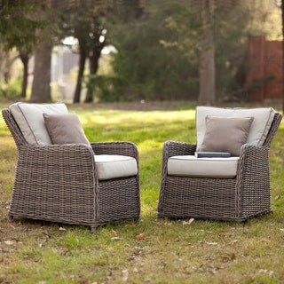 Upton Home Hardwicke Outdoor Chairs 2pc Set