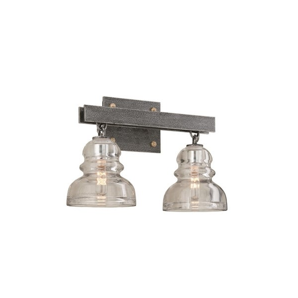 Troy Lighting Menlo Park Two Light Bath Sconce Free Shipping Today Overstock Com