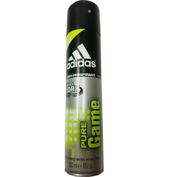 Adidas Pure Game 48-hour Cool & Dry Anti-perspirant Spray