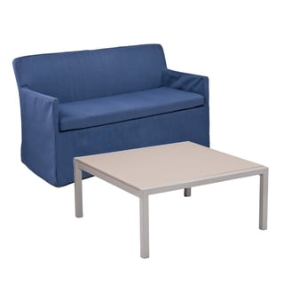 Upton Home Riviera Outdoor Cocktail and Loveseat 2 pc Set