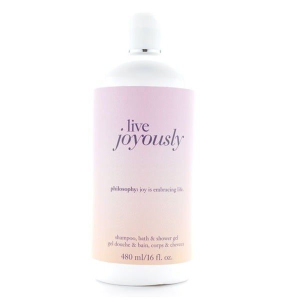 Philosophy Live Joyously 16-ounce Shampoo, Bath and Shower Gel