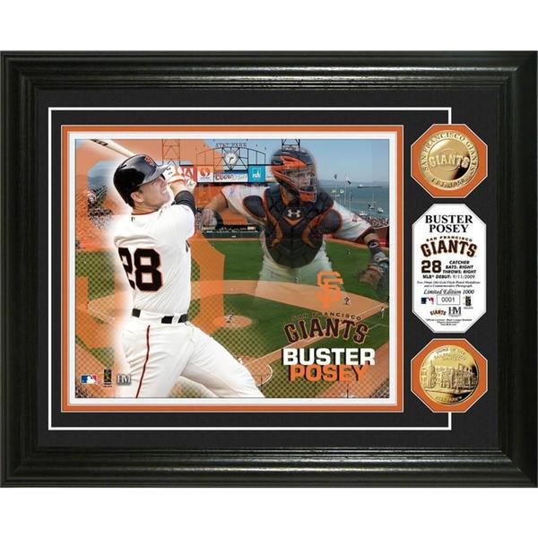 Buster Posey Gold Coin Photo Mint