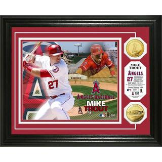 Mike Trout Gold Coin Photo Mint