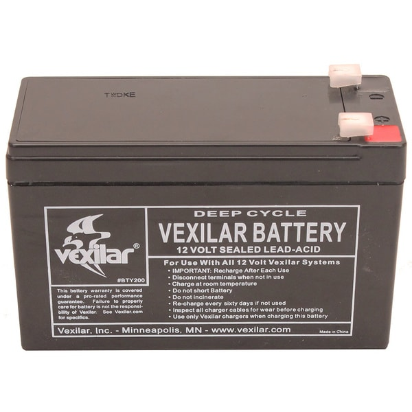 Vexilar V-100 9-amp Replacement Battery