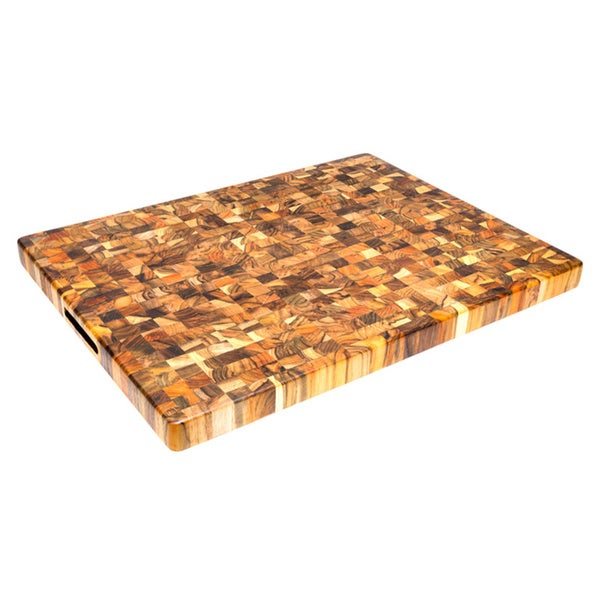 Proteak Rectangle End Grain With Hand Grips