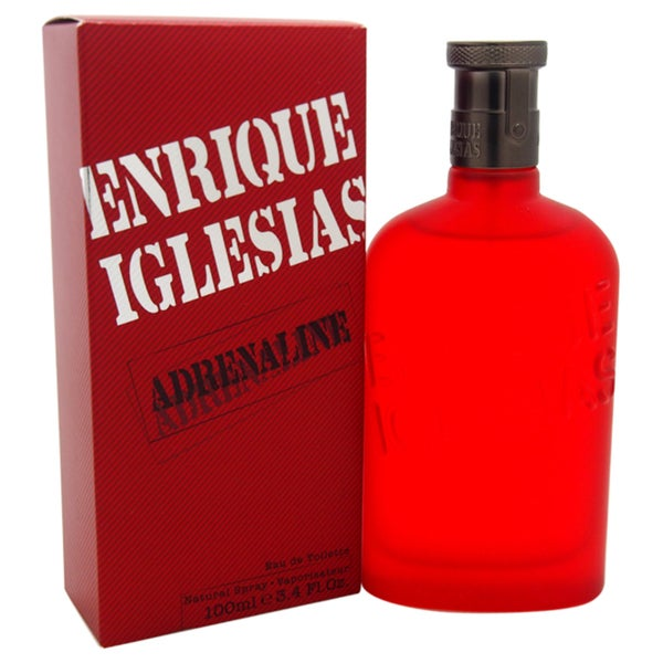 Adrenaline by Enrique Iglesias Men's 3.4-ounce Eau de Toilette