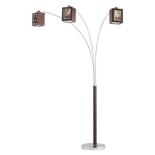birds nest arc floor lamp 14981066. Black Bedroom Furniture Sets. Home Design Ideas