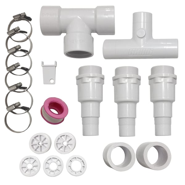 Bypass Kit for SolarPro/ SolarCurve Heaters for Above Ground Pools