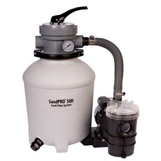 SandPro 50D Filter and .5 HP Pump