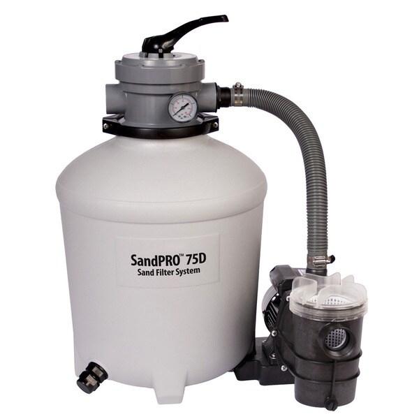 SandPro 75D Filter and .75-HP Pump