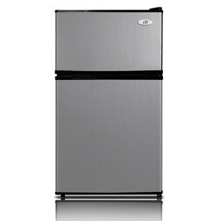 SPT Energy Star 3.5 cubic foot Stainless Double Door Refrigerator