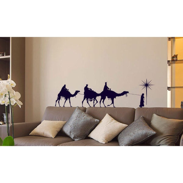 The Nativity of Jesus Sticker Sticker Vinyl Wall Art