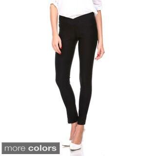 Stanzino Women's Elastic Waist Casual Slim Pants