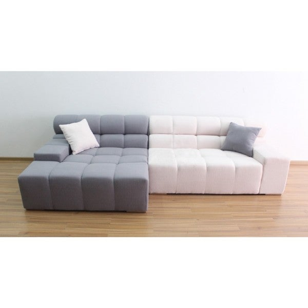 Modern Contrast Sectional Sofa