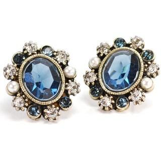 Sweet Romance Oval Focus Earrings