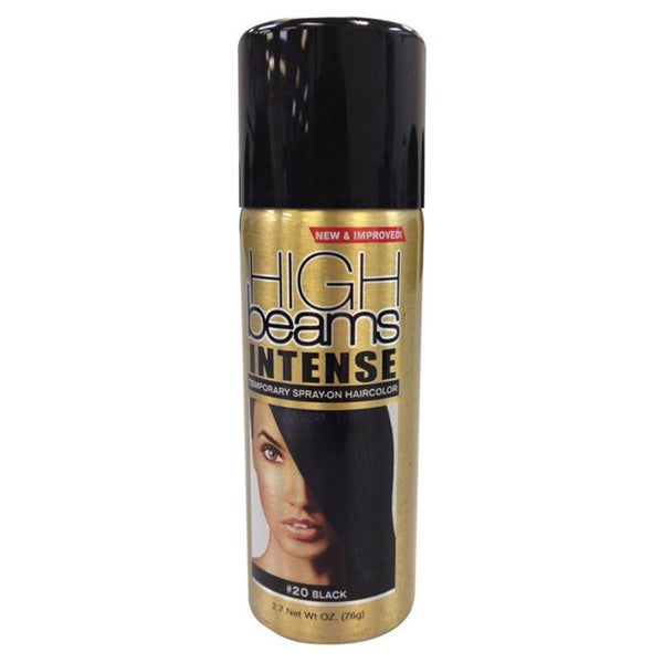 High Beams Intense Temporary Spray-on 2.7-ounce Black Hair Color