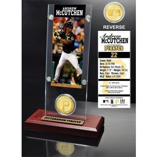 Andrew McCutchen Ticket and Bronze Coin Acrylic Desk Top