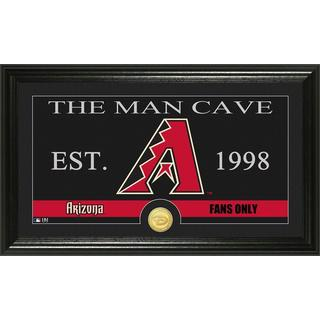 Arizona Diamondbacks Man Cave Bronze Coin Photo Mint