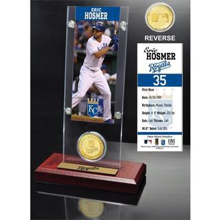Eric Hosmer Ticket and Bronze Coin Acrylic Desk Top