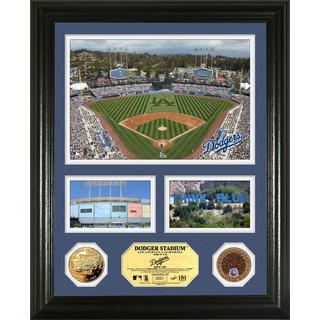 Los Angeles Dodgers Infield Dirt Coin Showcase Photo Mint